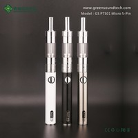 China Hot design save 20% PST01 atomizer clearomizer vapor electronic cigarette pen