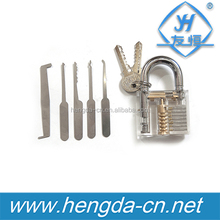 YH9285 Pick Cutaway Inside View Padlock For Locksmith Practice Training Skill Cutaway Practice auto smart locksmith tools