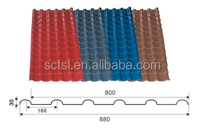 Building Construction Tools and Equipment PVC Roof Sheets Tile