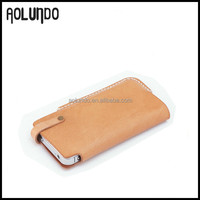2015 hot!!!Christmas gift leather cell phone case
