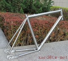 Ti CYC bicycle frame Titan cyclocross bike frame with coupler and open system XACD custom titanium bicycle frame