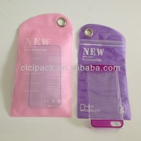 pvc bag for cell phone case