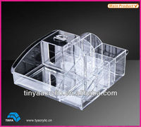2013 New Design Crystal Tabletop Acrylic Cosmetic Organizer