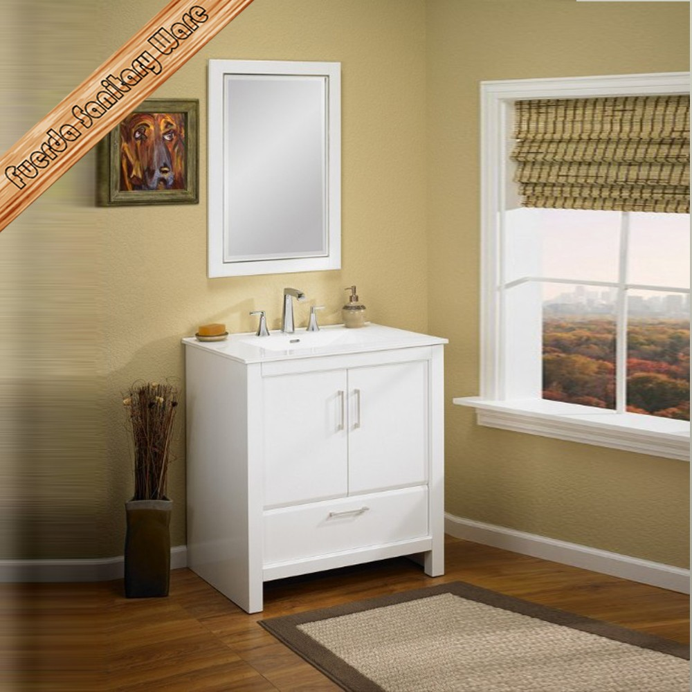 Floor Mounted Single Sink Solid Wood Bathroom Cabinet Buy Floor Mounted Bathroom Cabinet Solid