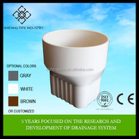plastic PVC conversion joint*110 for PVC gutter fittings Shifang pipe direct factory price