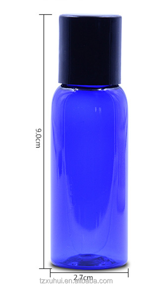 30ml High quality Clear Plastic travel lotion bottles with screw cap