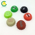 Hot selling cheap 100% silicone bottle cap beer custom crown cas