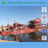 magnetic separator mining dredger/sand bucket chain vessel sales