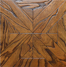 Chinese elm engineered hardwood flooring