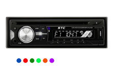 Single Din Car DVD Player with Subwoofer excellent sound effect & Aux-in STC-6211