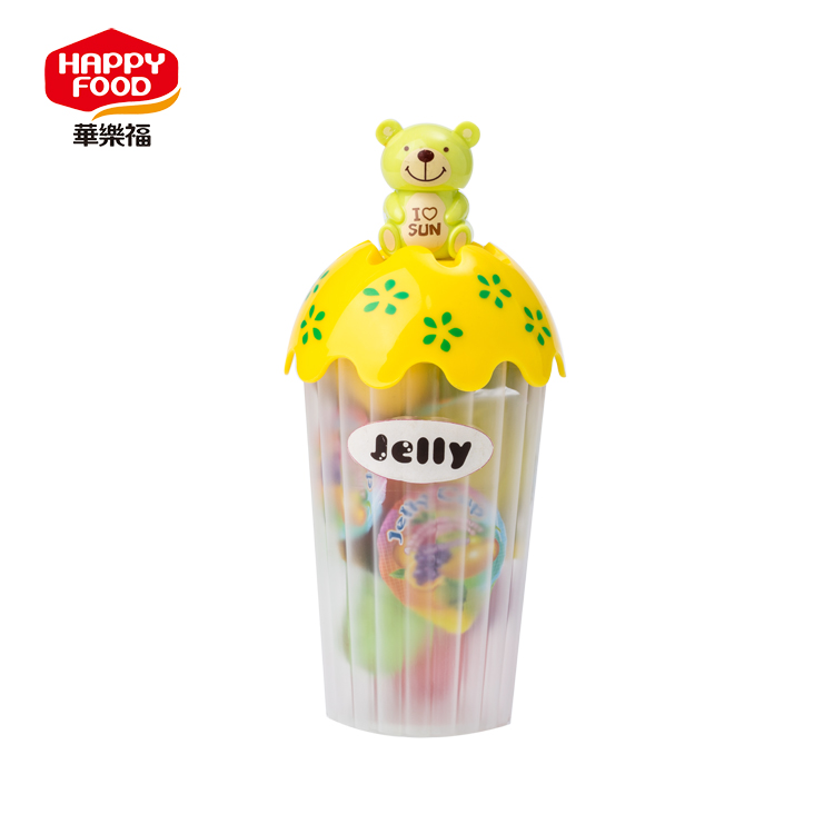 Top Quality jelly candy mould ice cream stick heart shaped assorted fruit
