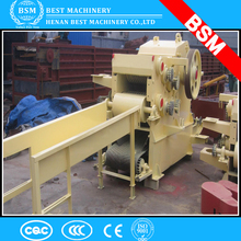 factory direct sale bamboo shredder machine with sharp wood chipper knives