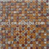 stone and glass mosaic 305x305MM