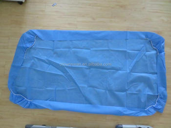 disposable bed sheet/used hotel bed sheets/non-woven bed sheets
