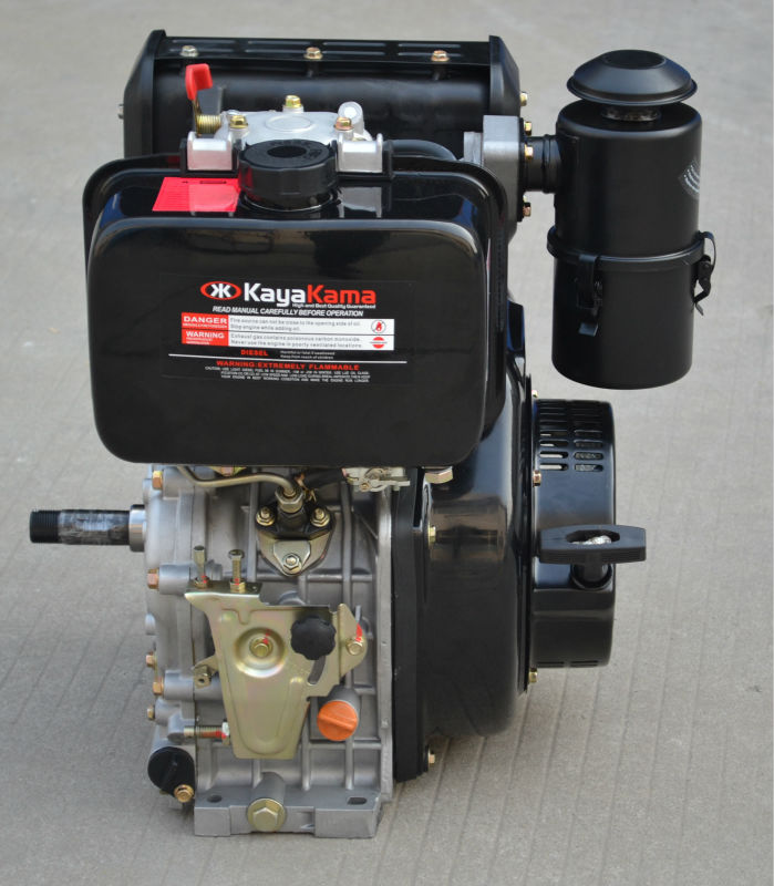 10HP 1800RPM kama 186f diesel engine for sale