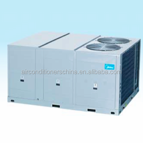 Midea tropical R410a rooftop packaged air conditioning