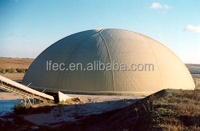 Waterproof Space Frame Shed for Outdoor Dome Storage