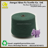 Yarn manufacturer cotton blended yarn dyed making pet rope pet products