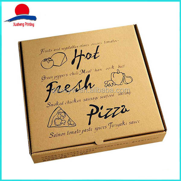 High Quality Printed Pizza Box