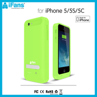 2400mah Best Battery Charger Case For iPhone 5s 5 5c MFi Certificated