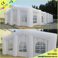 Outdoor Giant LED Light Big Wedding Exhibition Inflatable Tent, Inflatable Marquee, Camping Tent