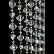 AM2339 event decoration hanging decorative crystal beaded chain curtain