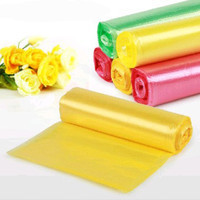 New design hdpe plastic grocery bags on roll with low price