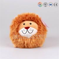 ODM product Q version plush animal series soft stuffed lion toy