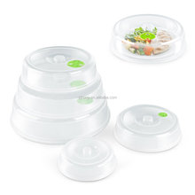 Microwave Plate Cover Lid (5 Piece Set) - Dish Cover with Splatter Spatter Protection Guard, Steam Ventilation Window