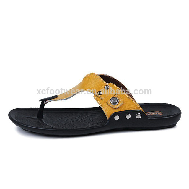 8129 men fashion korea style slipper flip flop