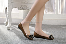 Ladies Flat PVC Shoes New Arrival Ladies Jelly Sandal