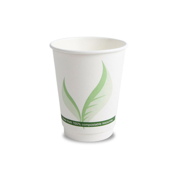 disposable flexo printing double wall coffee paper cups