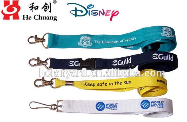 Ideal custom full color sublimation lanyard