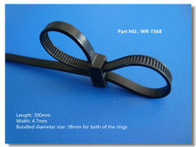 double loop cable tie from WR