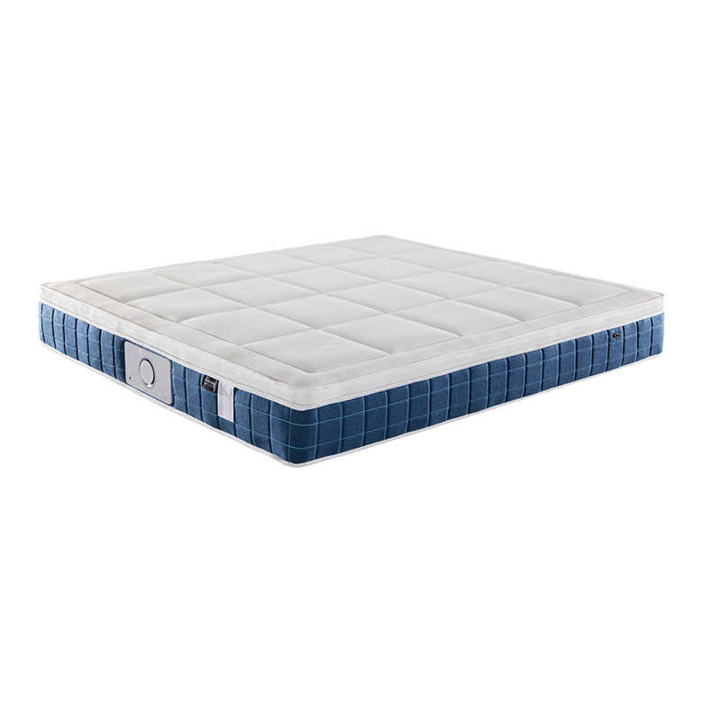 Asian high-end overgild 3D medium soft King queen size improve sleep quality musical negative ion magnetic mattress price