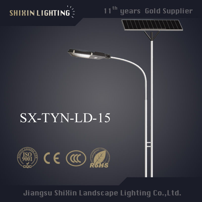 lamps and lanterns LED street antique lighting pole solar street light