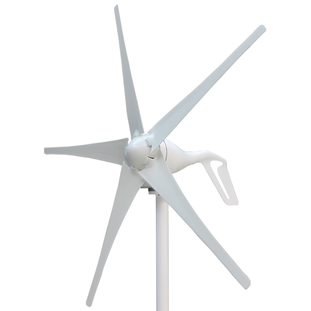S2 series 12V <strong>24V</strong> Nylon fiber small <strong>Wind</strong> Generator <strong>Turbine</strong> 400W 5 blades with 600W Waterproof Controller