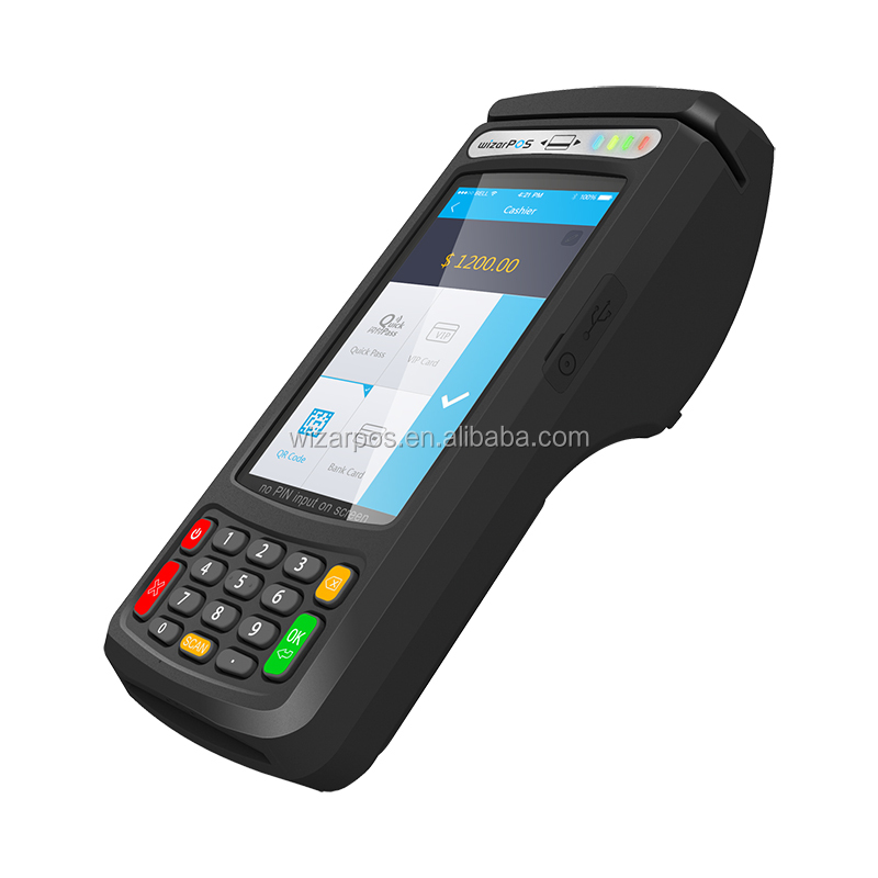 TQM certified Android payment terminal