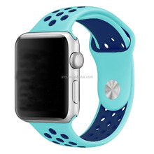 Soft Durable Sport Replacement Wrist Strap for iWatch Series 1 Series 2 Apple watch band 42mm