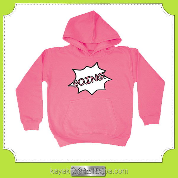customized printed cotton children hoodies