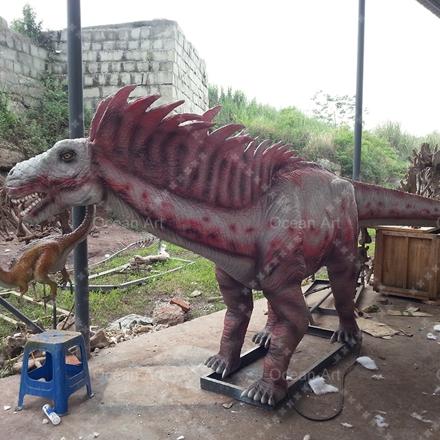 OAH5069 Alive Like Artificial Best Sale Amargasaurus Dinosaur