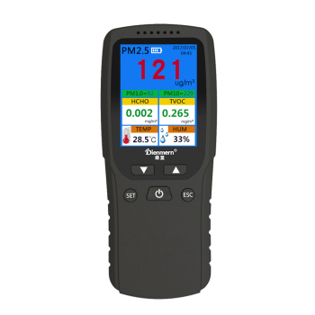 Dienmern Air Quality Monitor Homeuse Portable Air Pollution detector