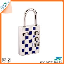 Shining 3 Numbers Combination Padlock / Lock with USB Drive