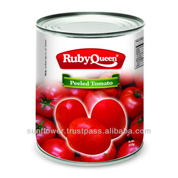 Canned Peeled tomato fresh pack