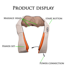 YICHANG New Design Electric Creamy Handheld Back Neck and Shoulder Pain Massage Machine
