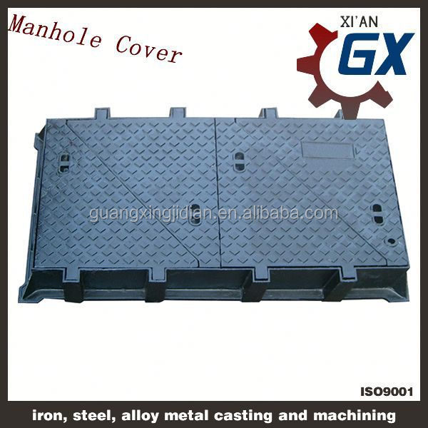 OEM Cast Iron Sewer Cover/ Manhole Cover For City Building