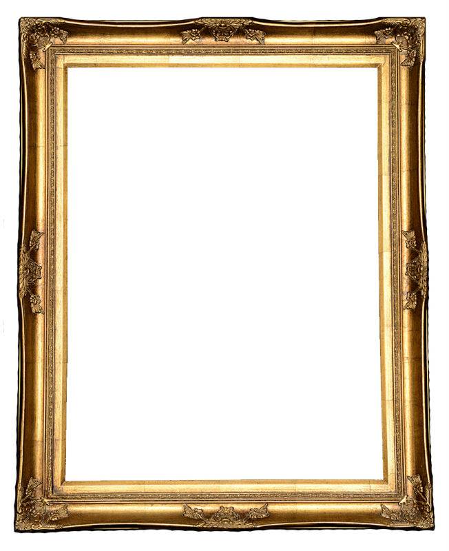 Real wood pine glass block picture frames