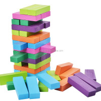 48pcs wooden building blocks toys