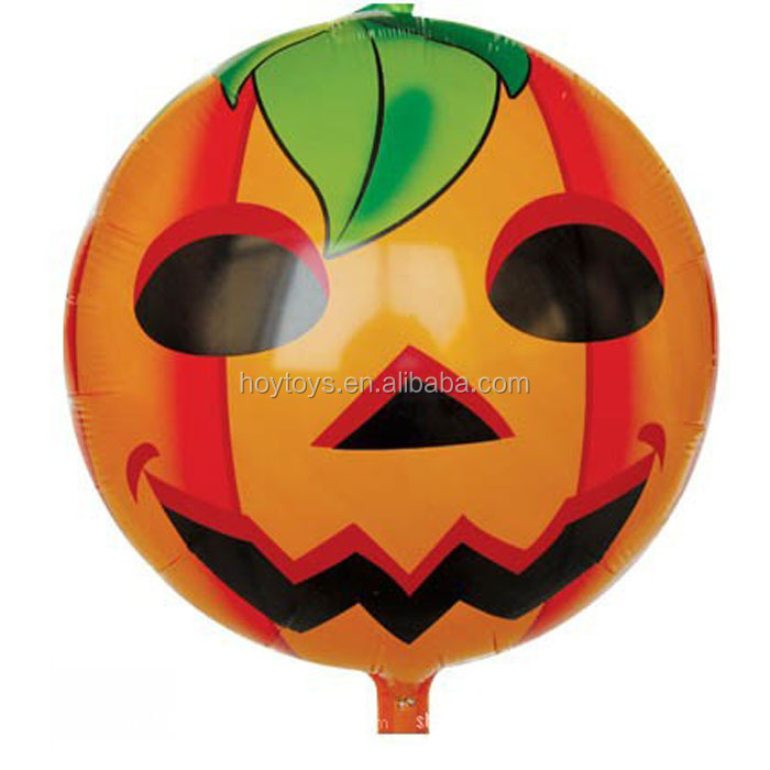 Newest Halloween Foil Inflatable Mylar Baloon