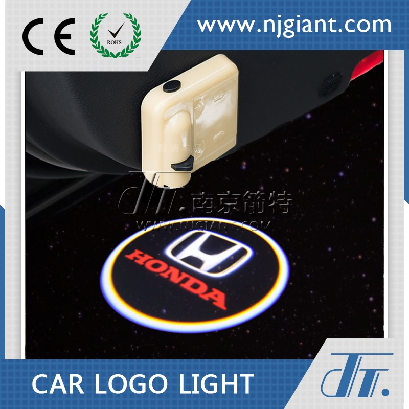 NJGIANT Led Wireless Car Door Welcome Light Logo Led Ghost Shadow Light All Car Led Auto Welcome Laser Door Lamp